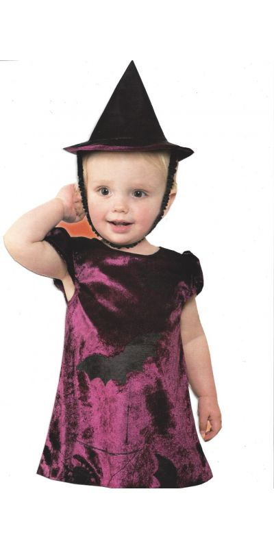 Baby Witch Costume 6 To 12 Months