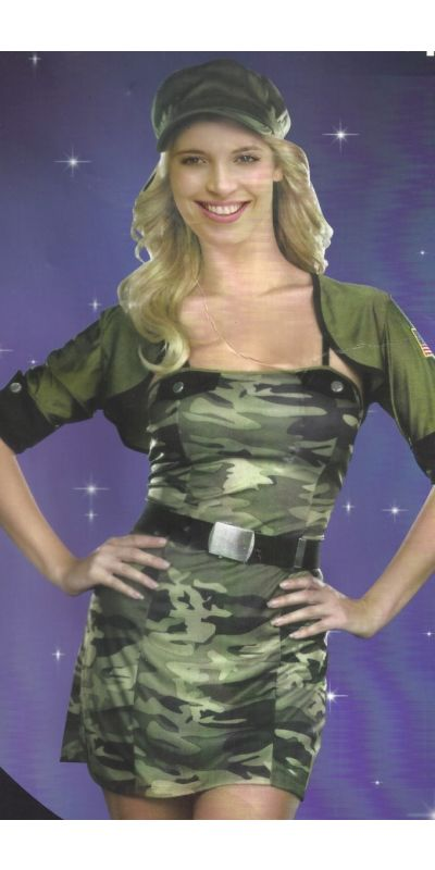 Army Cadet Woman Costume