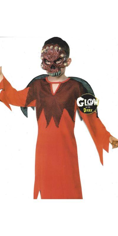 Demon Devil Costume Boy Age 7 - 8