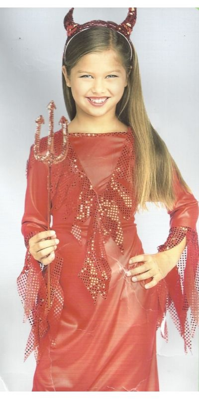 Devlish Diva Outfit Age 8 - 10