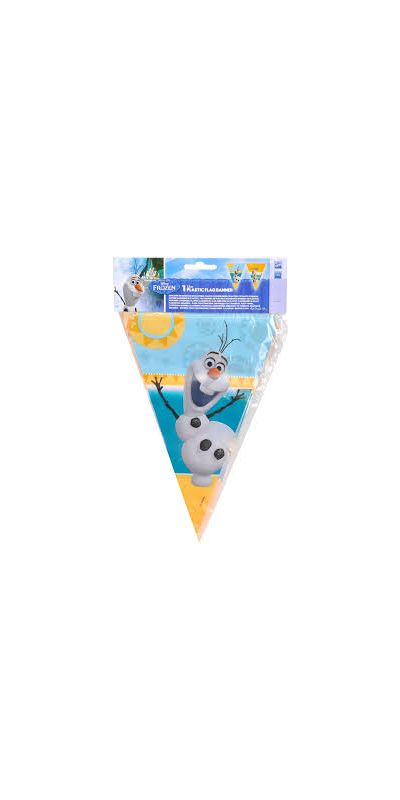 Frozen Olaf Flag Banner 1.7 m