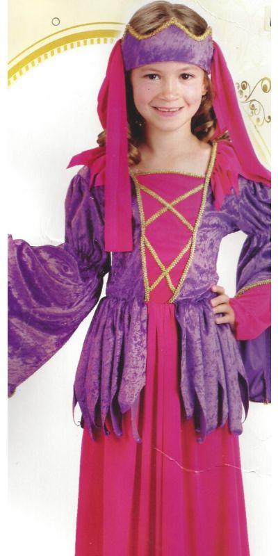 Gothic Princess Costume Child Large