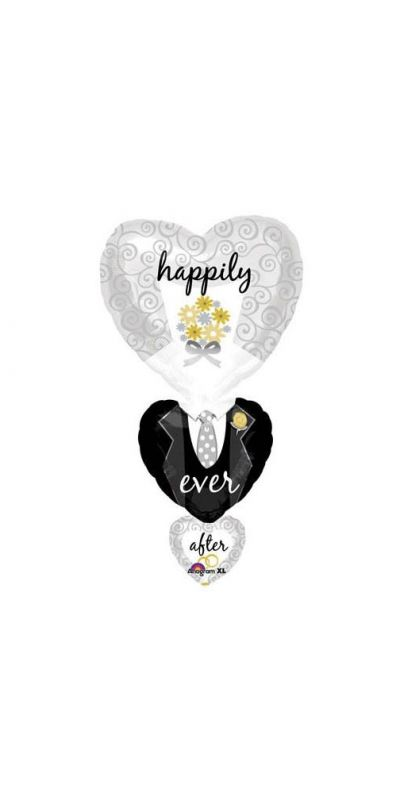 Happily Ever After Wedding Balloon Supershape
