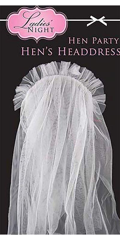 Hen Night Veil