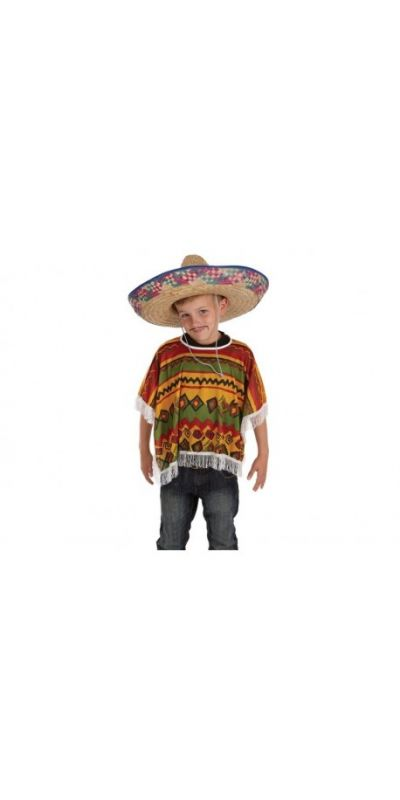 Mexican Poncho Large