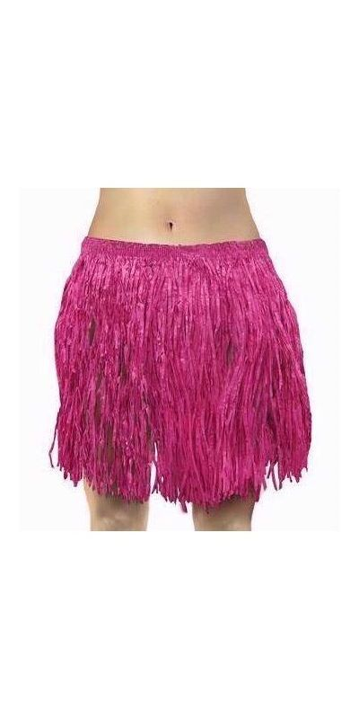 Hawaiian Hula Skirt Pink