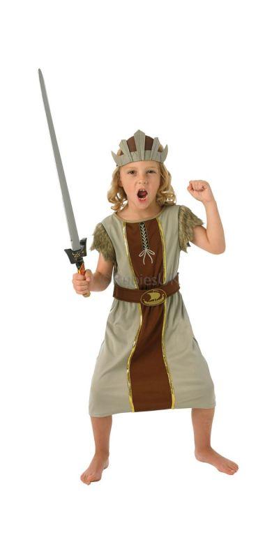 Viking Boy Costume Large