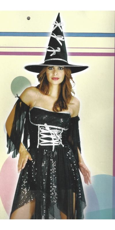 Witch Outfit Woman Size 10 to 14