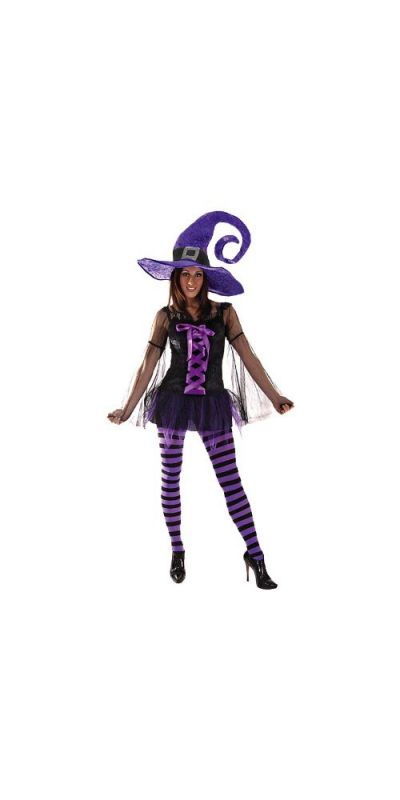 Witch Deluxe Outfit Size 10 to 12