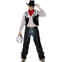 Cowboy Outfit Adult Large